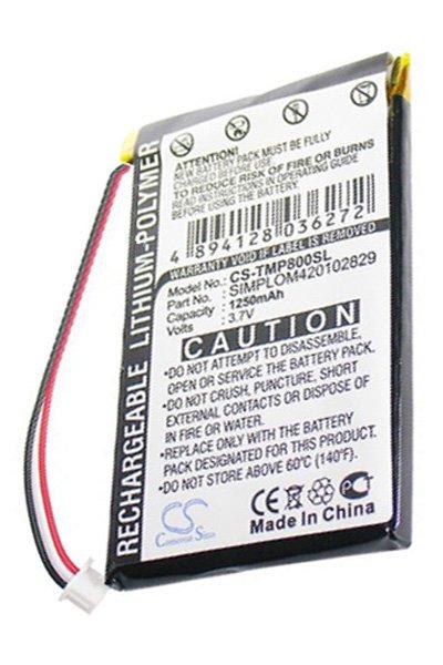 BTC-TMP800SL bateria (1250 mAh)