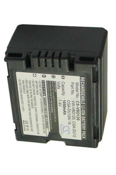 NV-GS120B 1050mAh Batería Para Panasonic NV-GS10EGR NV-GS120 NV-GS10EGS