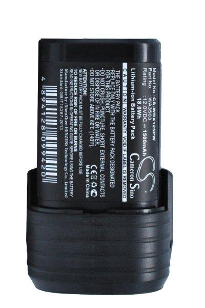 Worx WX125.3 (1500 mAh, Black)