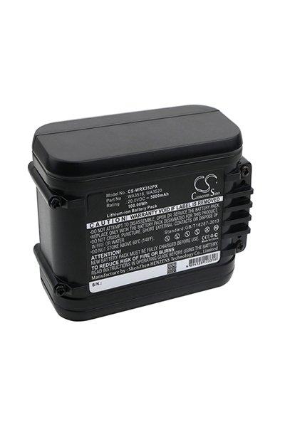 Worx WX372 (5000 mAh, Black)