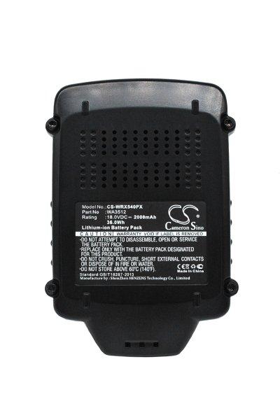 Worx WU289 (2000 mAh, Black)