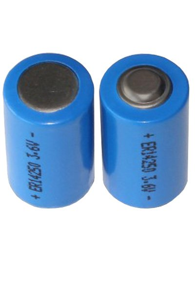 2x 1/2 AA batterij (1200 mAh)