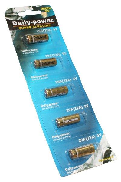 5x 29A batteria