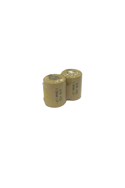 2x 4/5 Sub-C battery with solder tabs (1500 mAh, Rechargeable)