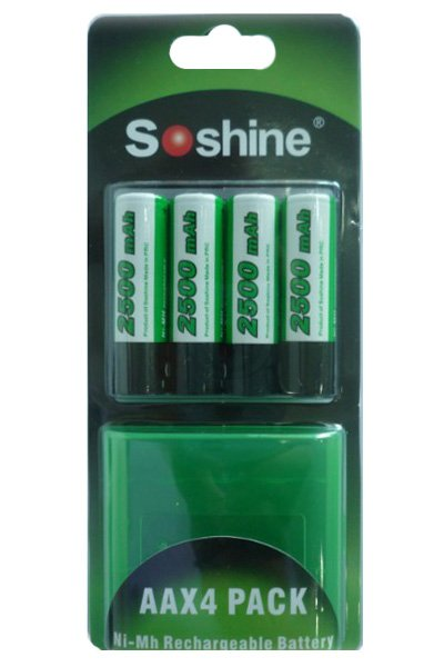 Soshine BTE-AA02 battery (2500 mAh)