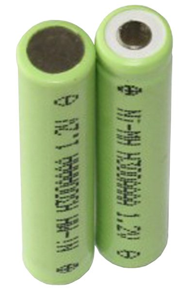 2x AAAA Batterie (350 mAh, Wiederaufladbar)