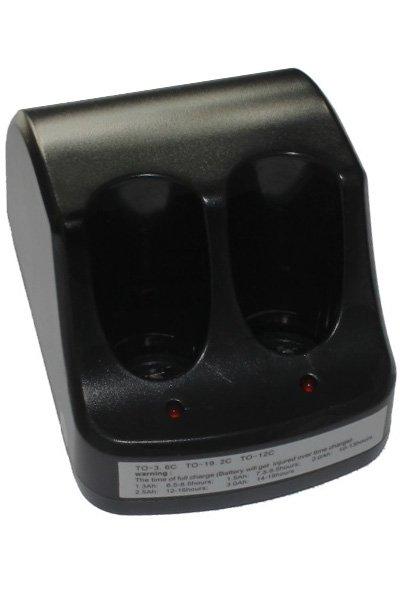 0.72W cargador de batería (3.6V, 0.2A)