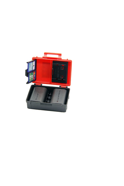 Aufbewahrungsbox für Ihre Akkus und Speicherkarten