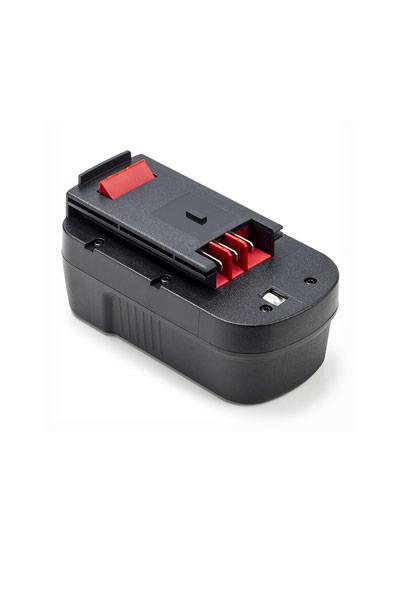 BTE-BD-18_B_2000_NI-MH batterie (2000 mAh, Noir)