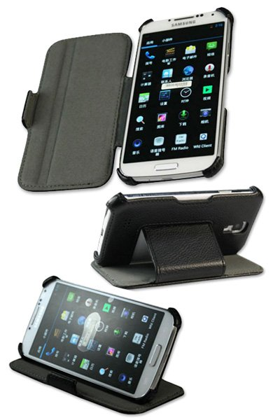 Leather Smartphone for AT&T SGH-I337 Galaxy S4