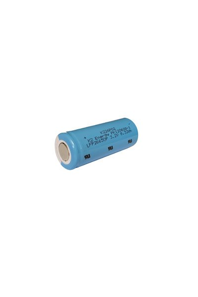 2x 26650 battery (5000 mAh, Rechargeable)