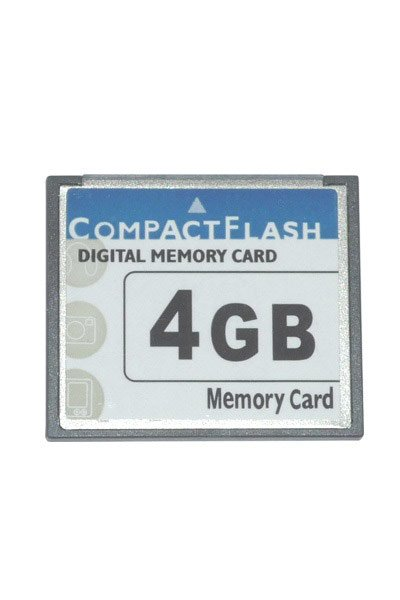 CompactFlash 66x 4 GB Speicherkarte / USB-sticks