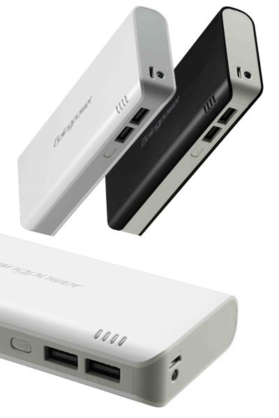 External battery pack (10000 mAh) for Sanyo DY002 (Black)