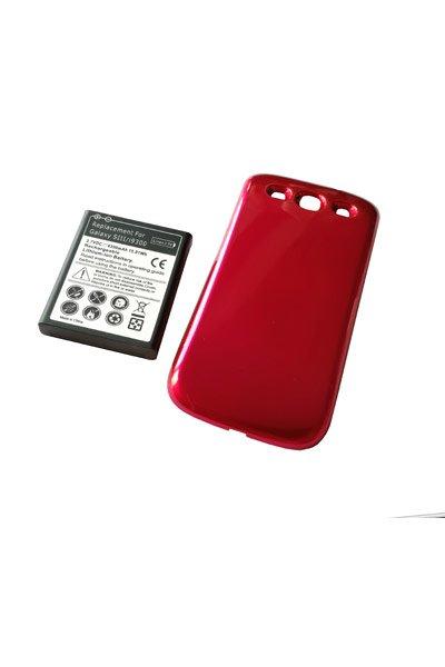 Samsung GT-I9308 Galaxy S3 (4300 mAh, Juoda, NFC)