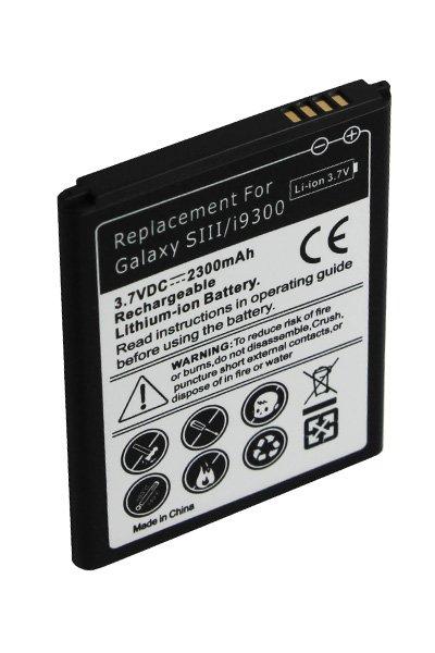Samsung GT-I9308 Galaxy S3 (2300 mAh, Juoda)