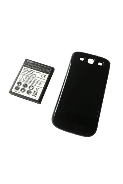 Samsung GT-I9308 Galaxy S3 (4300 mAh, Juoda)