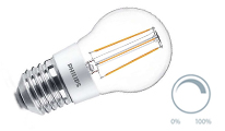 Lustre filament dimmable