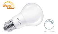 Pear mattiert dimmable WarmGlow