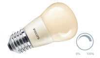 Lustre frosted dimmable warm white