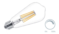 Special filament dimmable