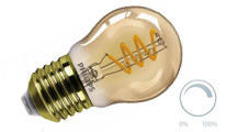 Lustre filament vintage dimmable