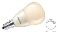 Lustre frosted warm white dimmable