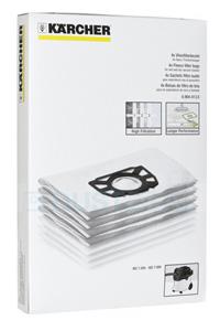 Karcher Sacchetti raccoglipolvere Microfibra (4 sacchetti)