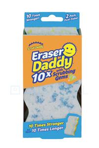 Scrub Daddy | Eraser Daddy Miracle Sponge (2 pieces)