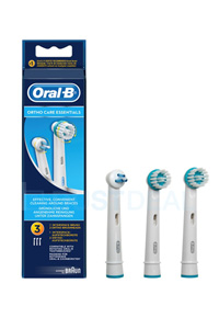 Oral-B Ortho Care Essentials Tannbørte (3 stk)