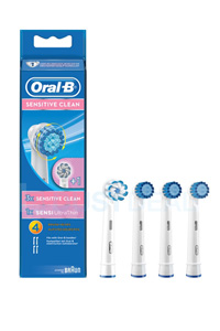Oral-B Sensitive Clean Tannbørte (4 stk)