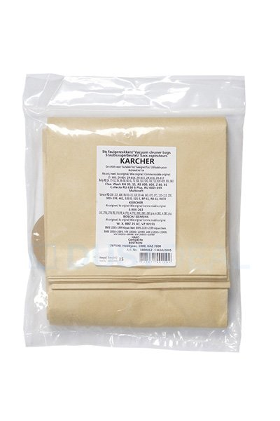 Pack Of 10 ZR81 Type Vacuum Cleaner Dust Bags for Bosch BMS1000 BMS2299