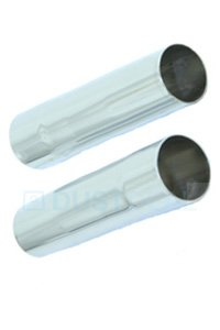 Chrome adapter (Diameter 32-32 mm)