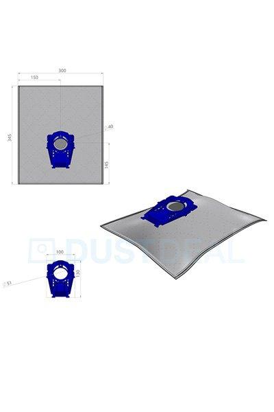 10x Aspirateur Sacs Papier Pour Siemens vs08g20//90 Siemens vs08g2001//01