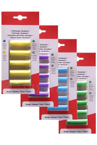Fragrance sticks set (Flower, Lemon, Ocean, Lavender Reduktion: 30%)
