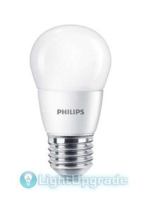 E27 Lampes LED 7W (60W) (Lustre, givré)