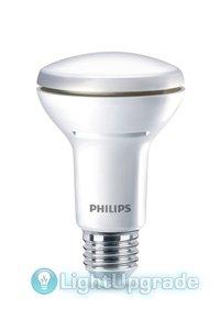 Philips E27 LED-lyspærer 5.7W (60W) (Reflektor, Klart, Kan dimmes)