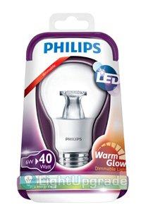 Philips E27 LED lamp 6W (40W) (Kogel, Helder, Dimbaar)